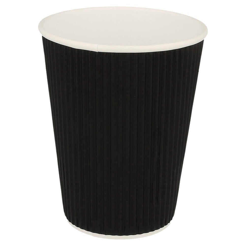 Gobelet boissons chaudes double paroi carton ondulé 36cl Black Edition par 1000
