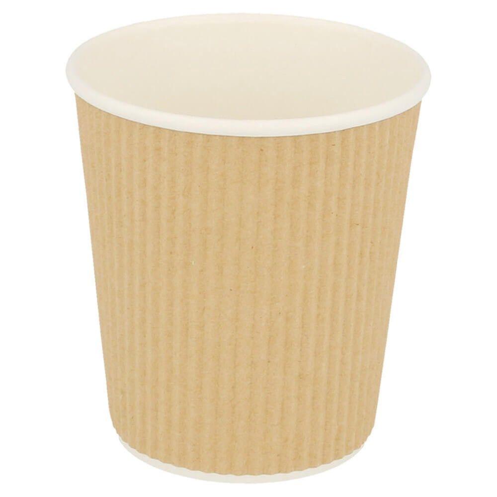 Gobelet boissons chaudes double paroi carton ondulé 18cl - par 1000