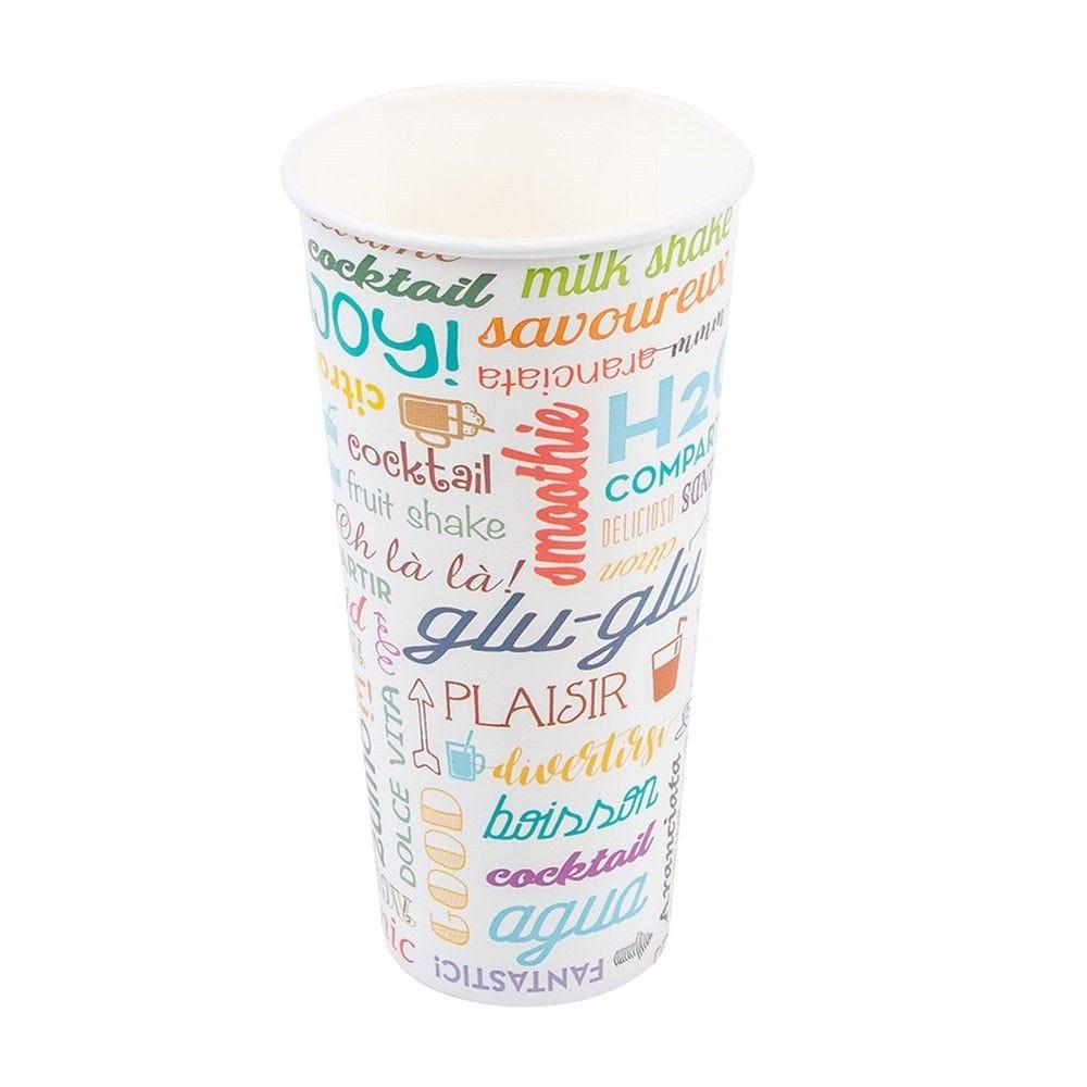 Gobelet boissons froides en carton Parole 66cl - par 1000