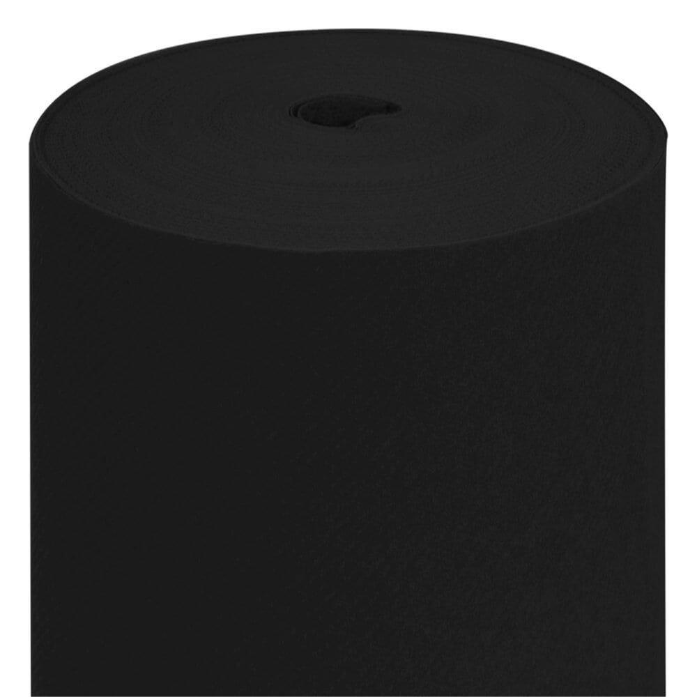 Nappe en rouleau intissé noir 1,20x50m - par 1