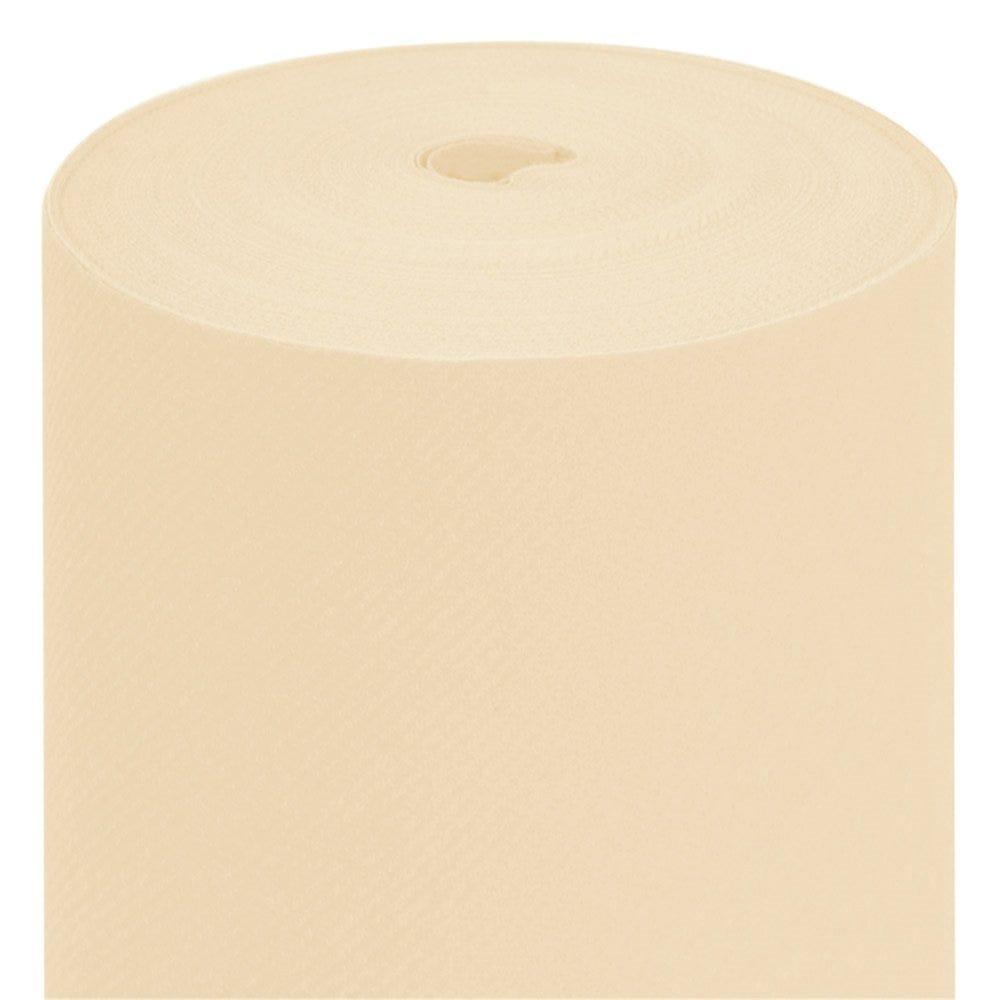 Nappe en rouleau intissé ivoire 1,20x50m - par 1