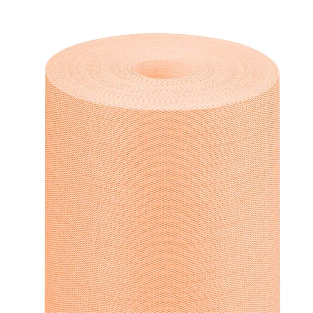 Nappe en rouleau intissé effet tissu mandarine 1,20x25m par 1