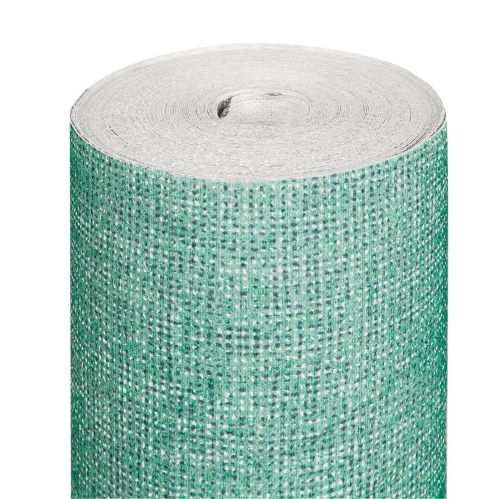 Nappe en rouleau intissé effet tissu vert d'eau 1,20x25m - par 1
