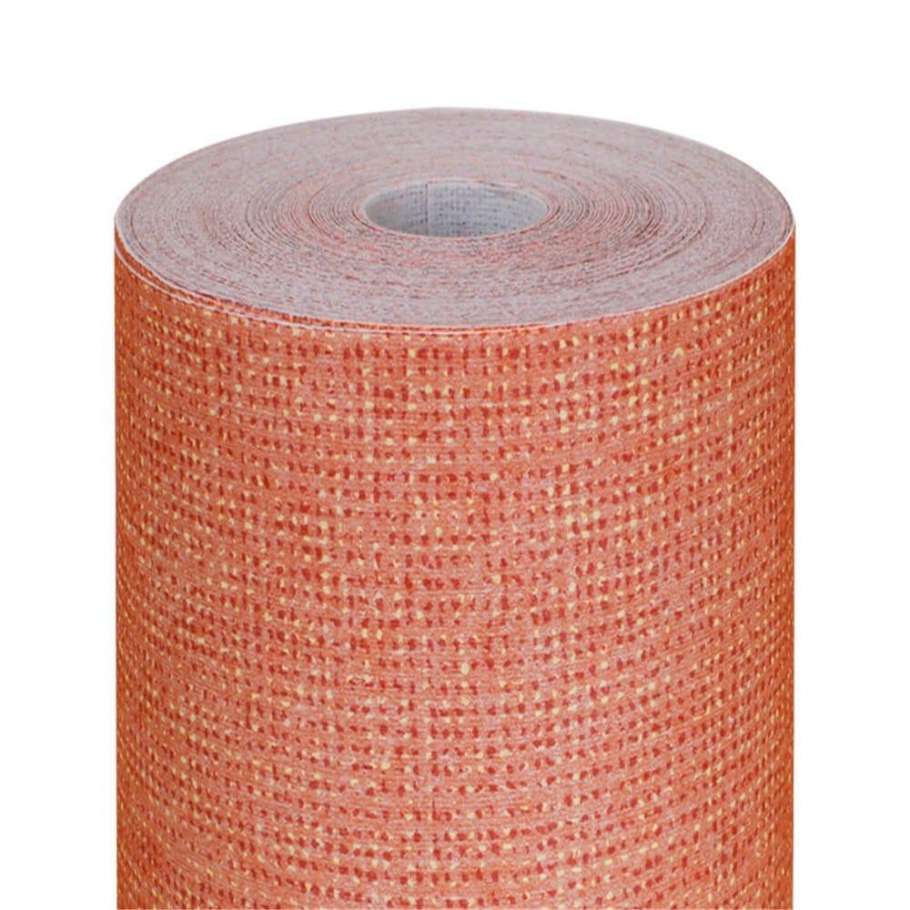 Nappe en rouleau intissé effet tissu mandarine 1,20x25m - par 1