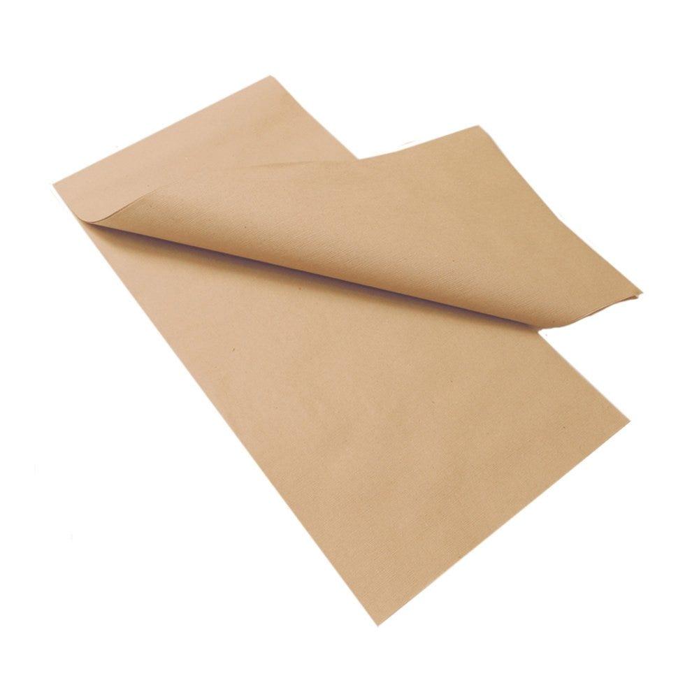 Nappe en papier recyclé naturel 80x80cm - par 200