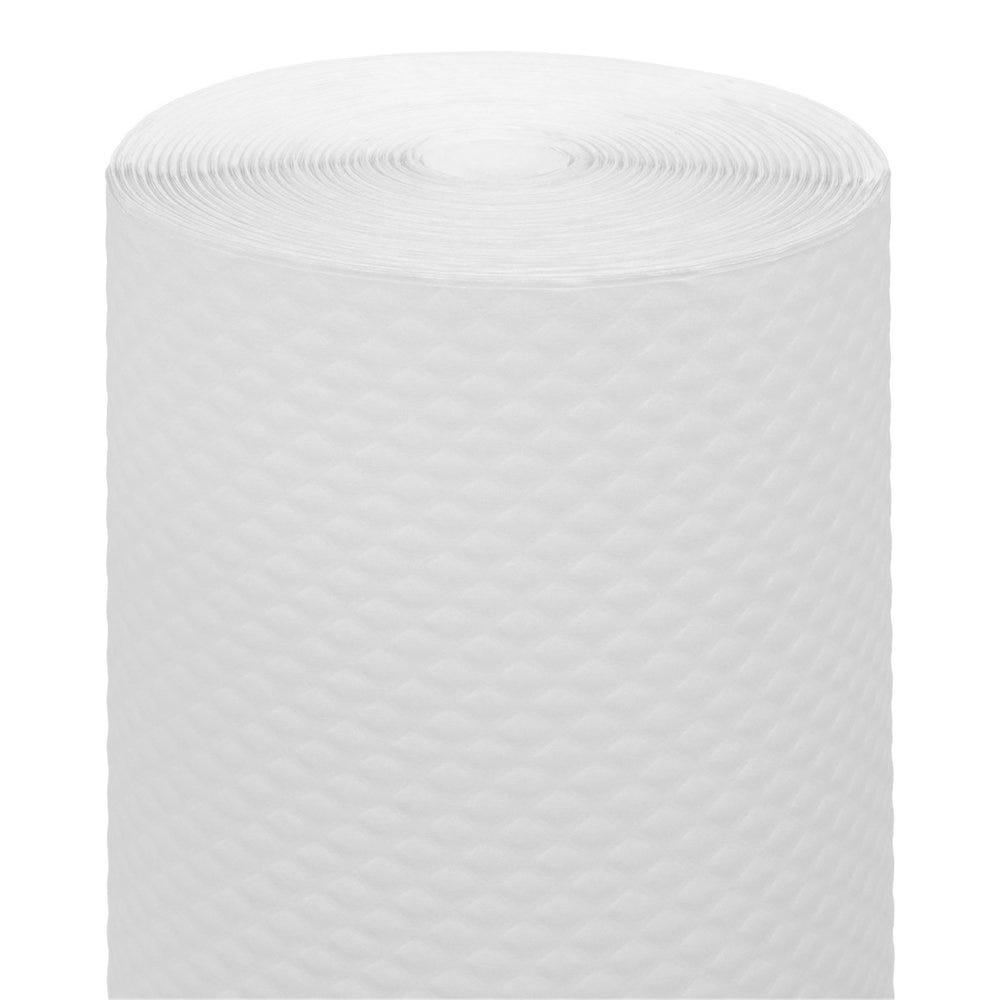 Nappe en rouleau cellulose extra damassé blanc 1x100m - par 4