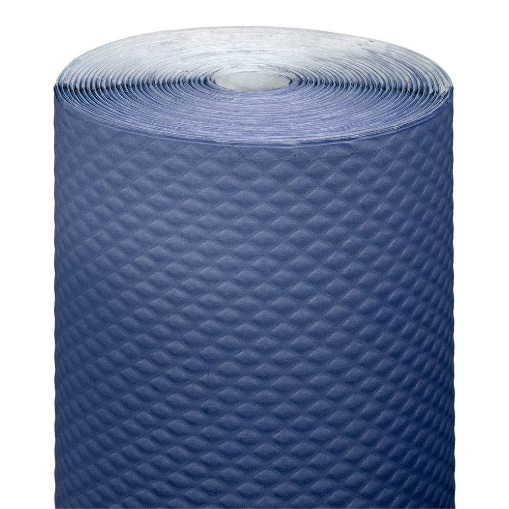 Nappe en rouleau cellulose extra damassé bleu marine 1,20x100m - par 4