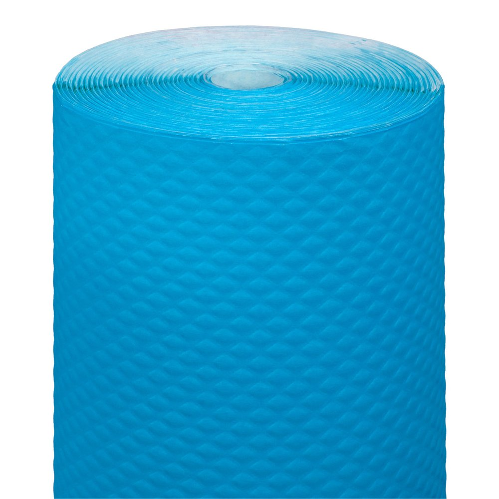 Nappe en rouleau cellulose extra damassé turquoise 1,20x100m - par 4