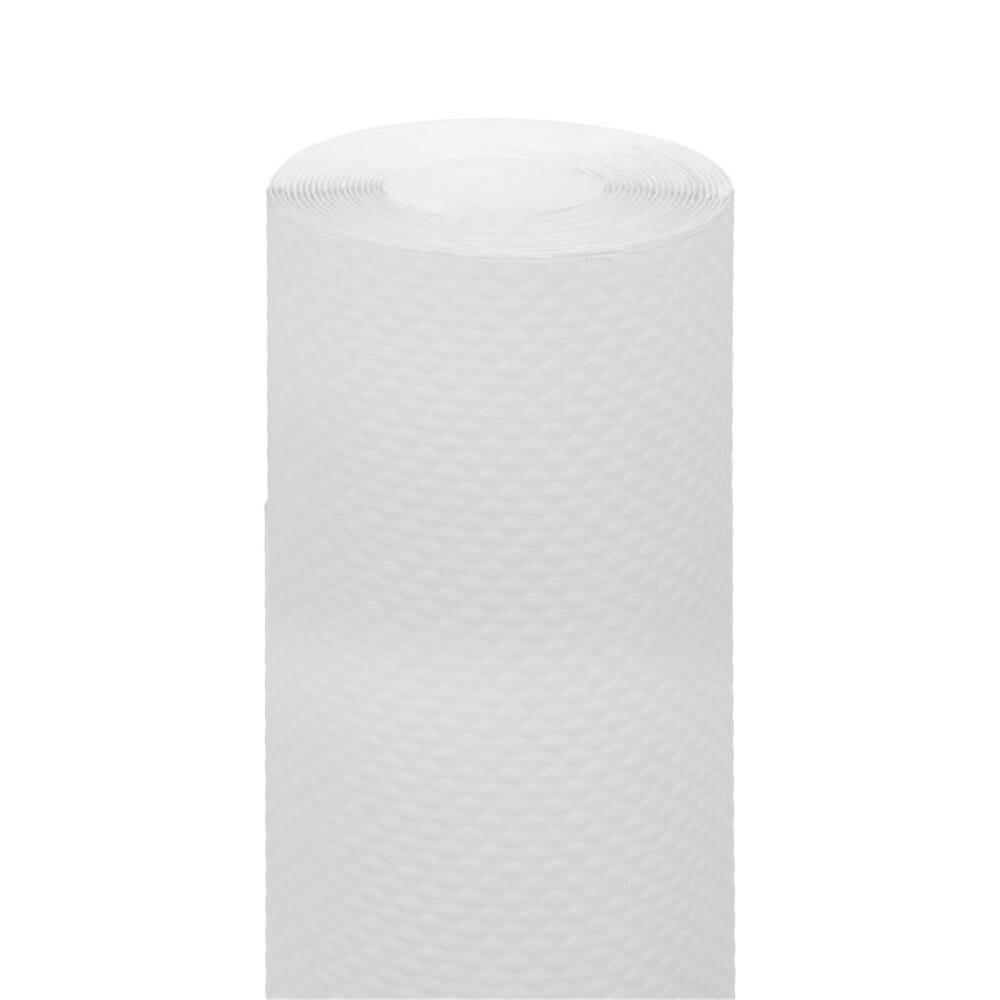 Nappe en rouleau cellulose extra damassé blanc 1,20x7m - par 25
