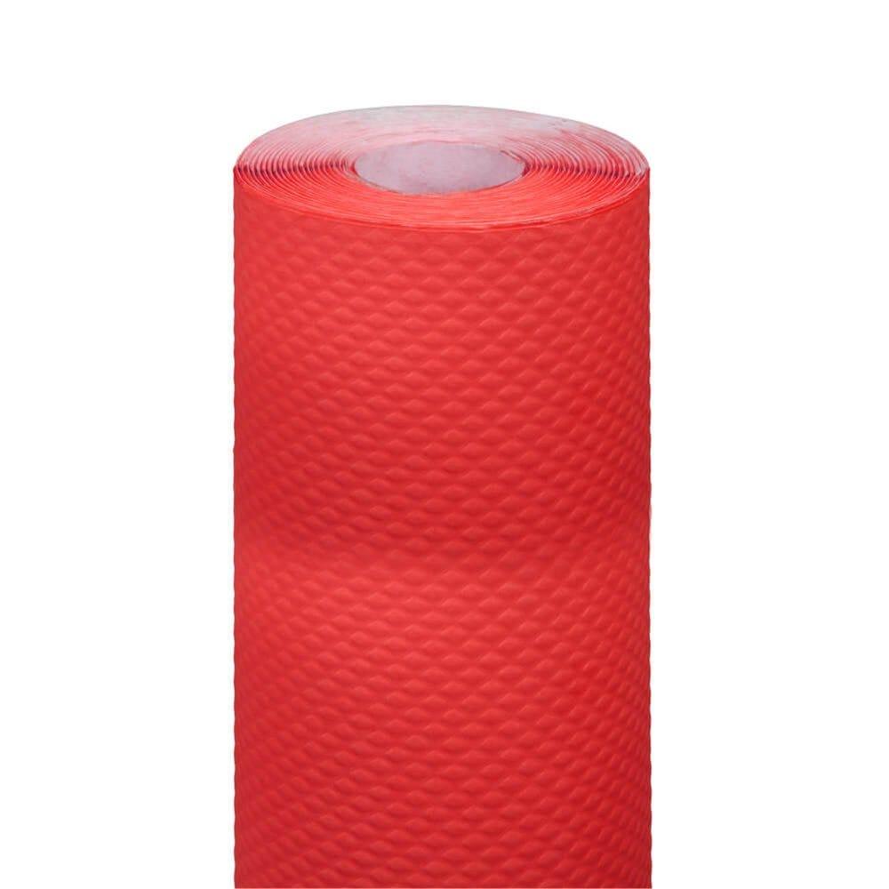 Nappe en rouleau cellulose extra damassé rouge 1,20x7m - par 25