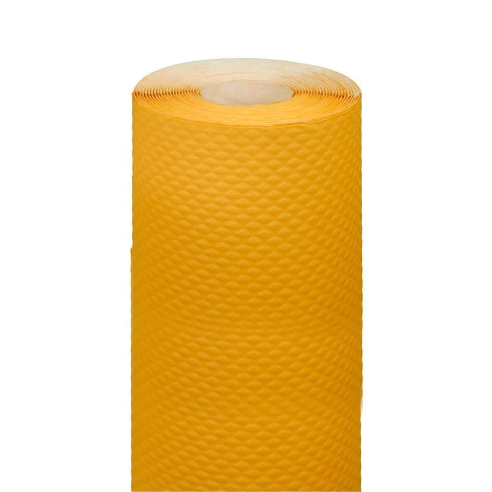 Nappe en rouleau cellulose extra damassé jaune 1,20x7m - par 25