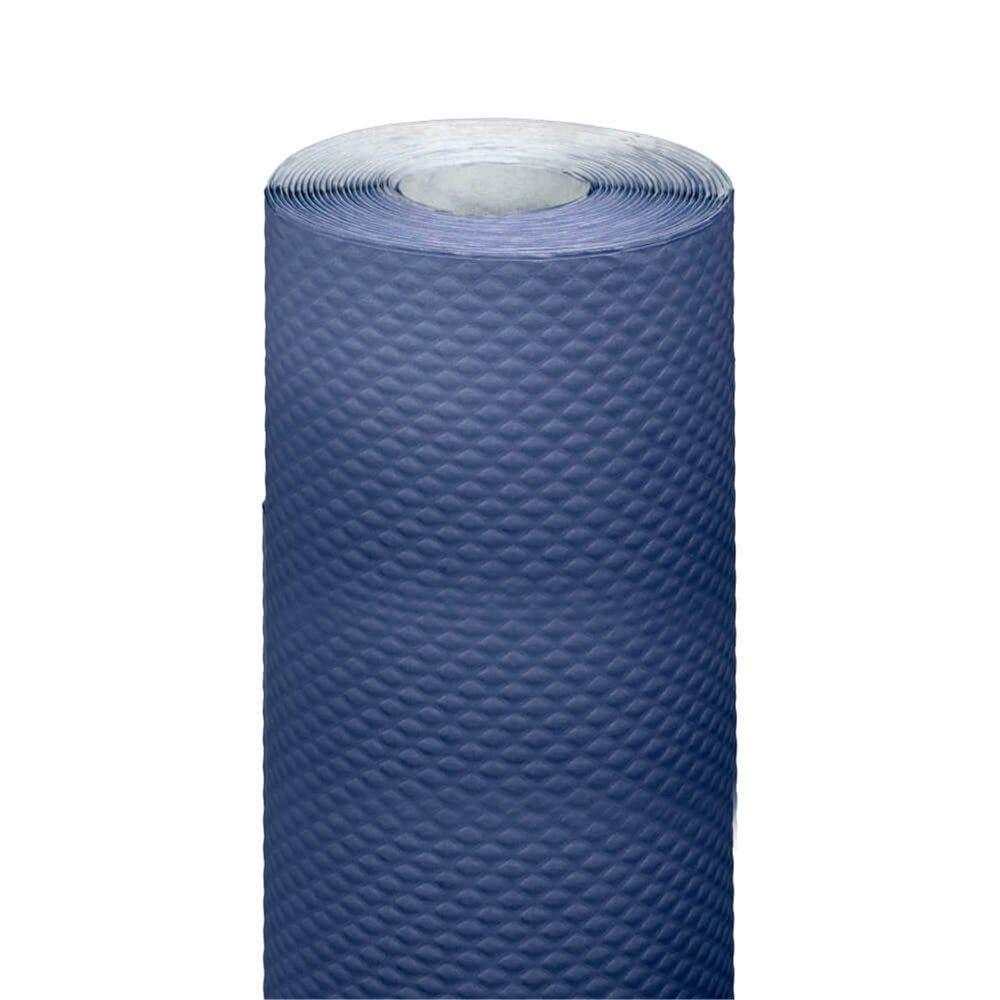 Nappe en rouleau cellulose extra damassé bleu marine 1,20x7m - par 25