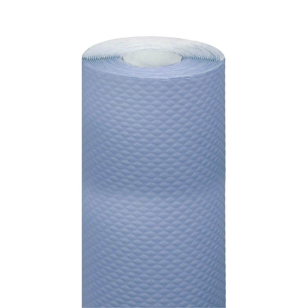 Nappe en rouleau cellulose extra damassé bleu ciel 1,20x7m - par 25