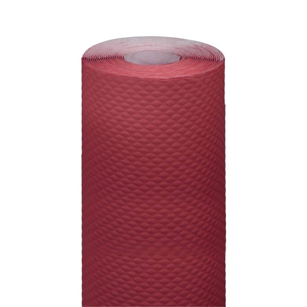 Nappe en rouleau cellulose extra damassé bordeaux 1,20x7m - par 25
