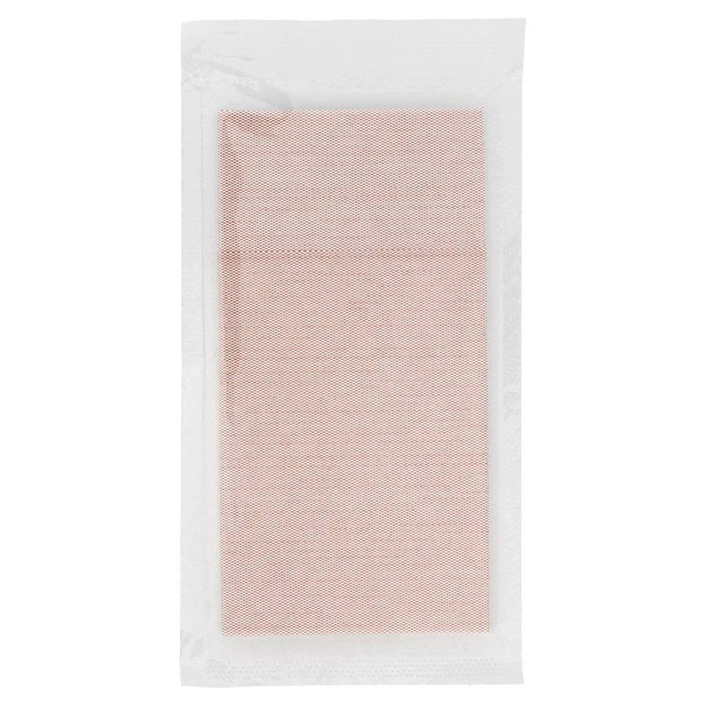 Serviette-étui intissé effet tissu bordeaux sous sachet 40x39cm - par 300