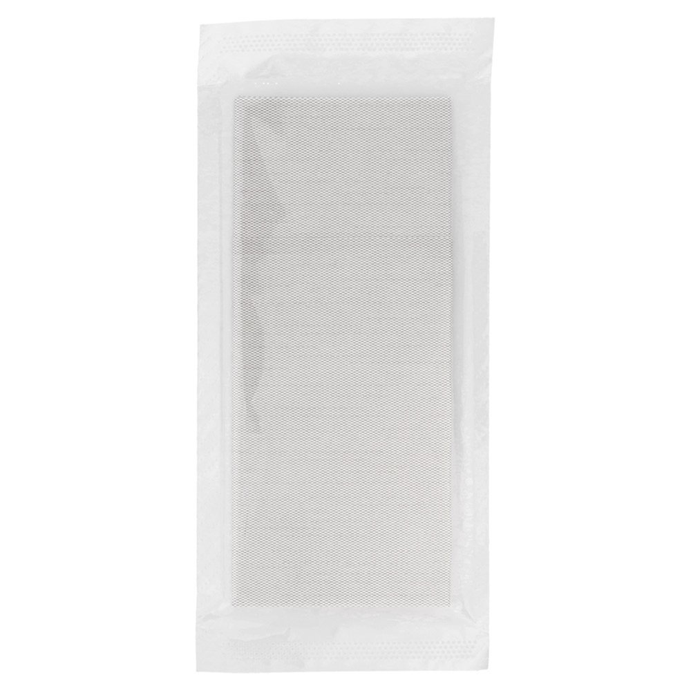 Serviette-étui intissé effet tissu gris sous sachet 40x32cm - par 300