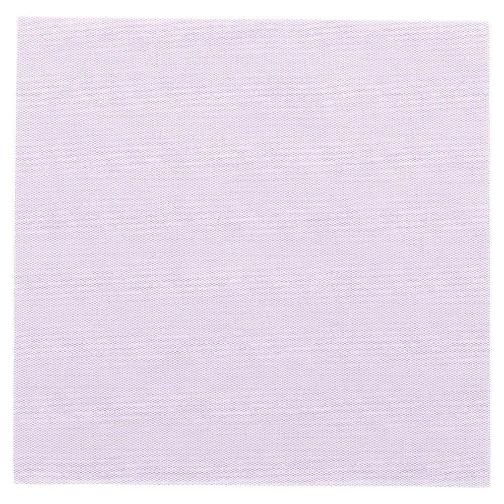 Serviette intissé parme effet tissu 40x40cm - par 600