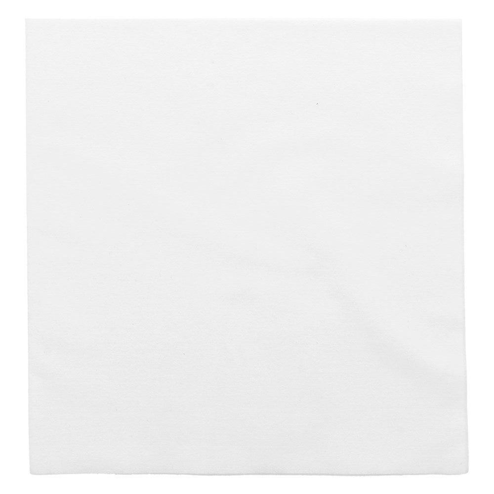 Serviette intissé blanc effet tissu 40x40cm - par 600