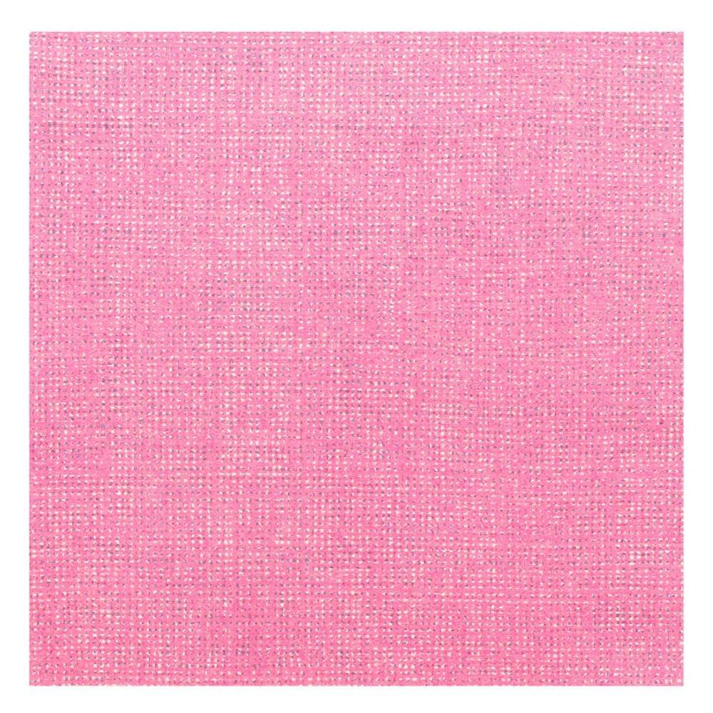Serviette intissé rose vif effet tissu 40x40cm - par 600