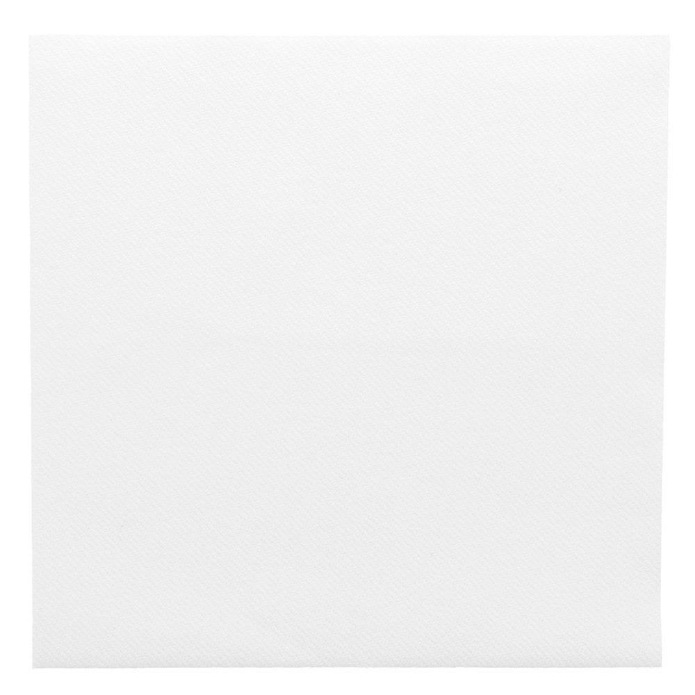 Serviette intissé blanc 40x40cm - par 700