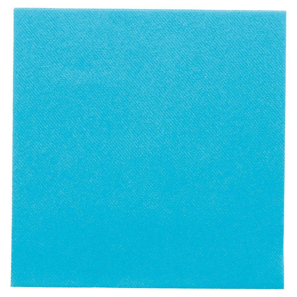 Serviette intissé turquoise 40x40cm - par 700
