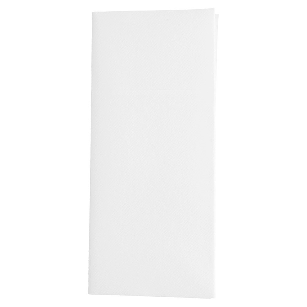 Serviette-étui pour couverts intissé blanc 40x45cm - par 720