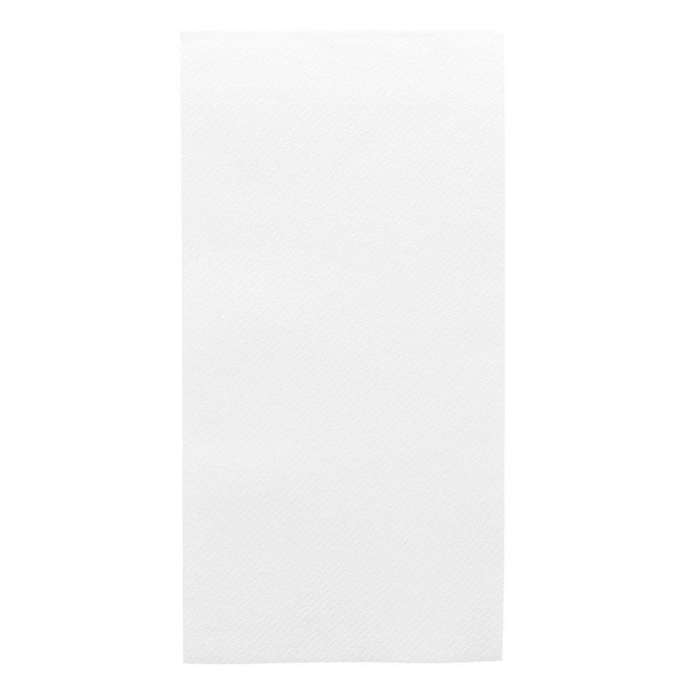 Serviette intissé blanc 1/8 40x40cm - par 750