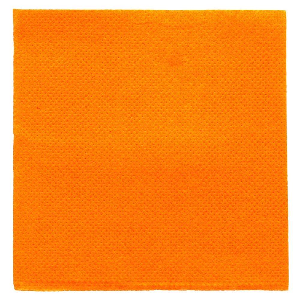 Serviette en ouate gaufré 2 plis clémentine 20x20cm - par 2400