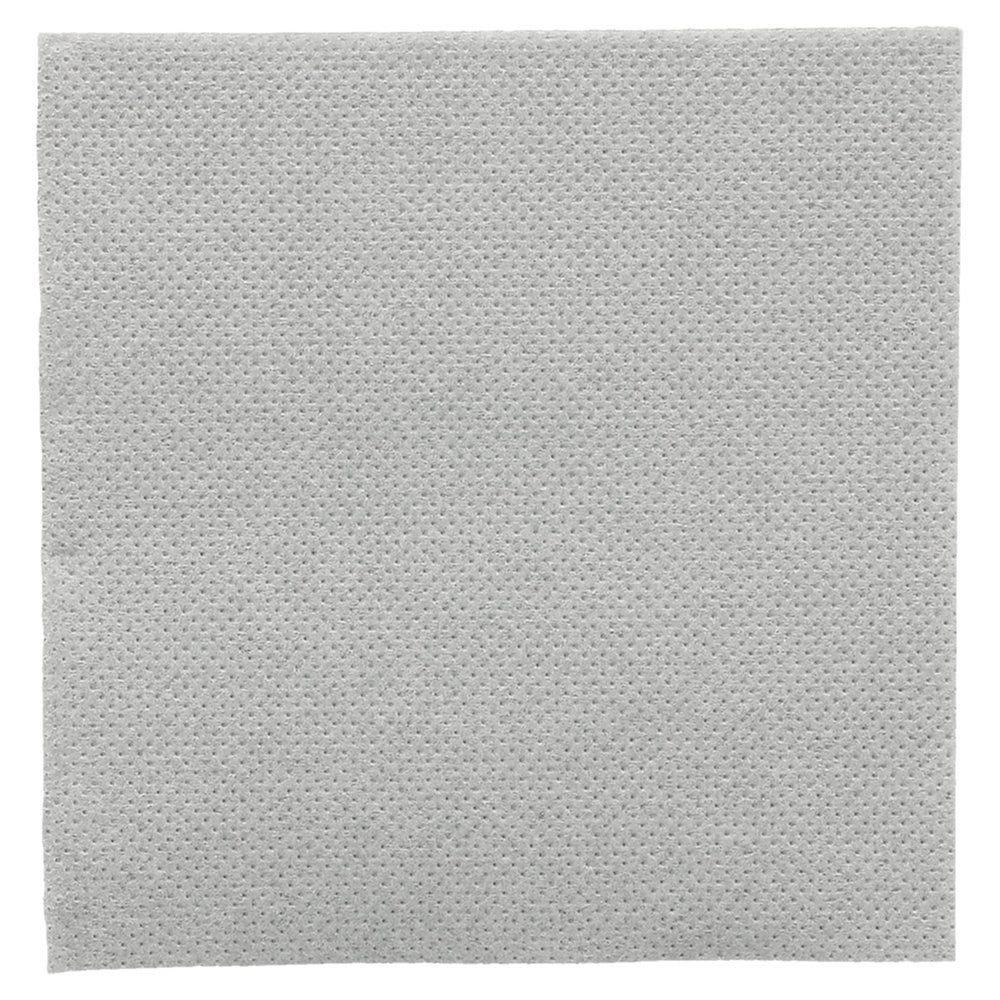 Serviette en ouate gaufré 2 plis gris 20x20cm - par 2400
