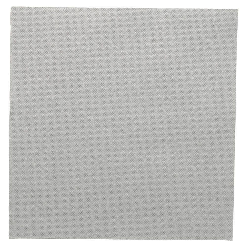 Serviette en ouate gaufré 2 plis gris 39x39cm - par 1200