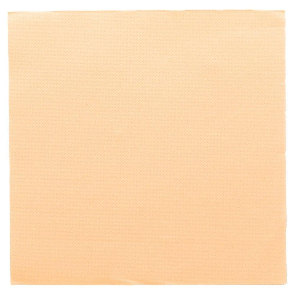 Serviette en ouate gaufré 2 plis ivoire 39x39cm - par 1200