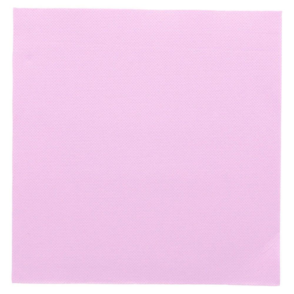 Serviette en ouate gaufré 2 plis lavande 39x39cm - par 1200