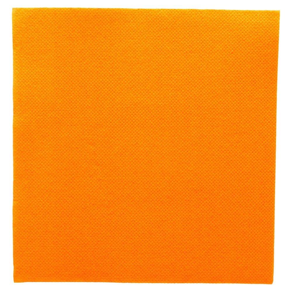 Serviette en ouate gaufré 2 plis clémentine 33x33cm - par 1200