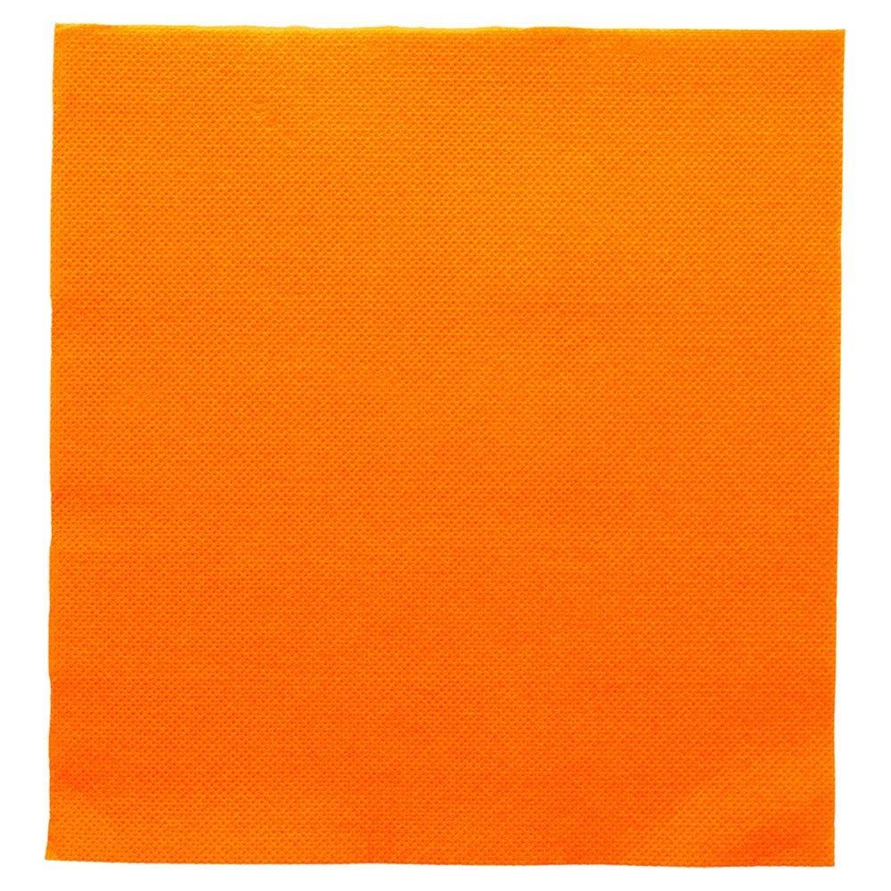 Serviette en ouate gaufré 2 plis clémentine 39x39cm - par 1200