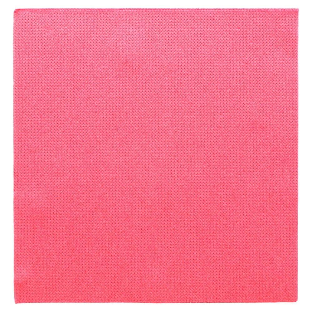 Serviette en ouate gaufré 2 plis fuchsia 39x39cm - par 1200