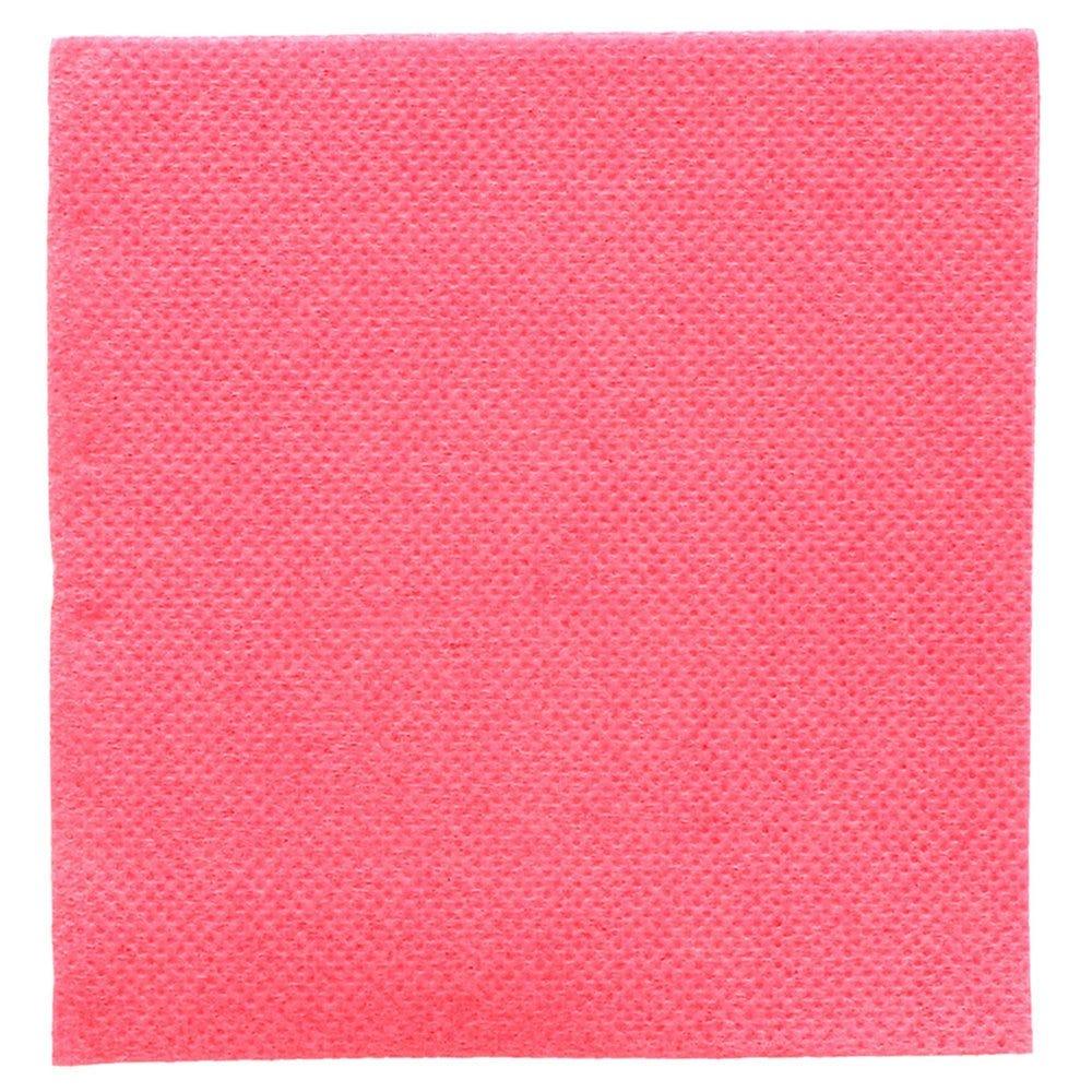 Serviette en ouate gaufré 2 plis fuchsia 20x20cm - par 2400