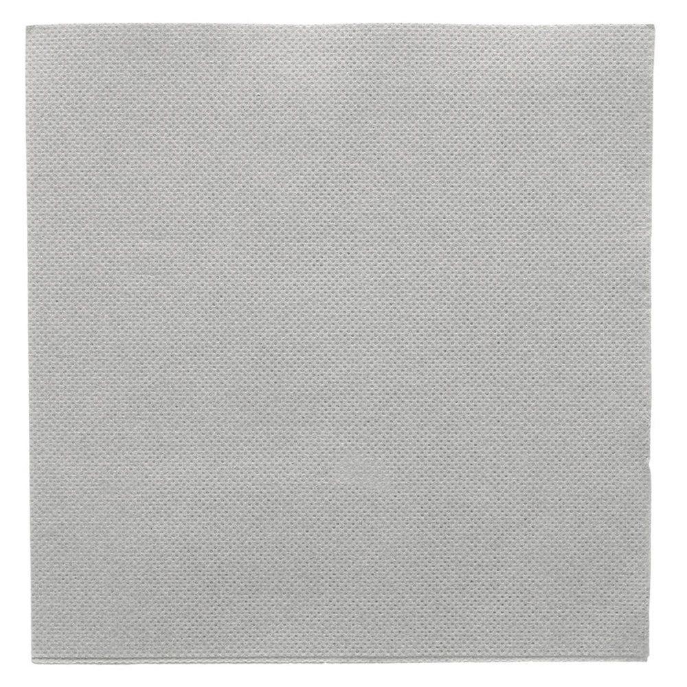 Serviette en ouate gaufré 2 plis gris 33x33cm - par 1200