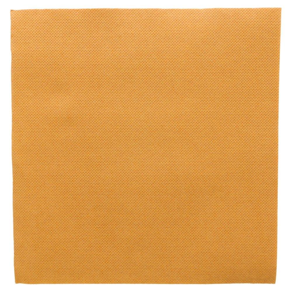 Serviette en ouate gaufré 2 plis or 39x39cm - par 1200