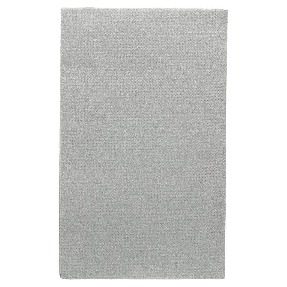 Serviette en ouate gaufré 2 plis gris 1/6 33x40cm - par 2000