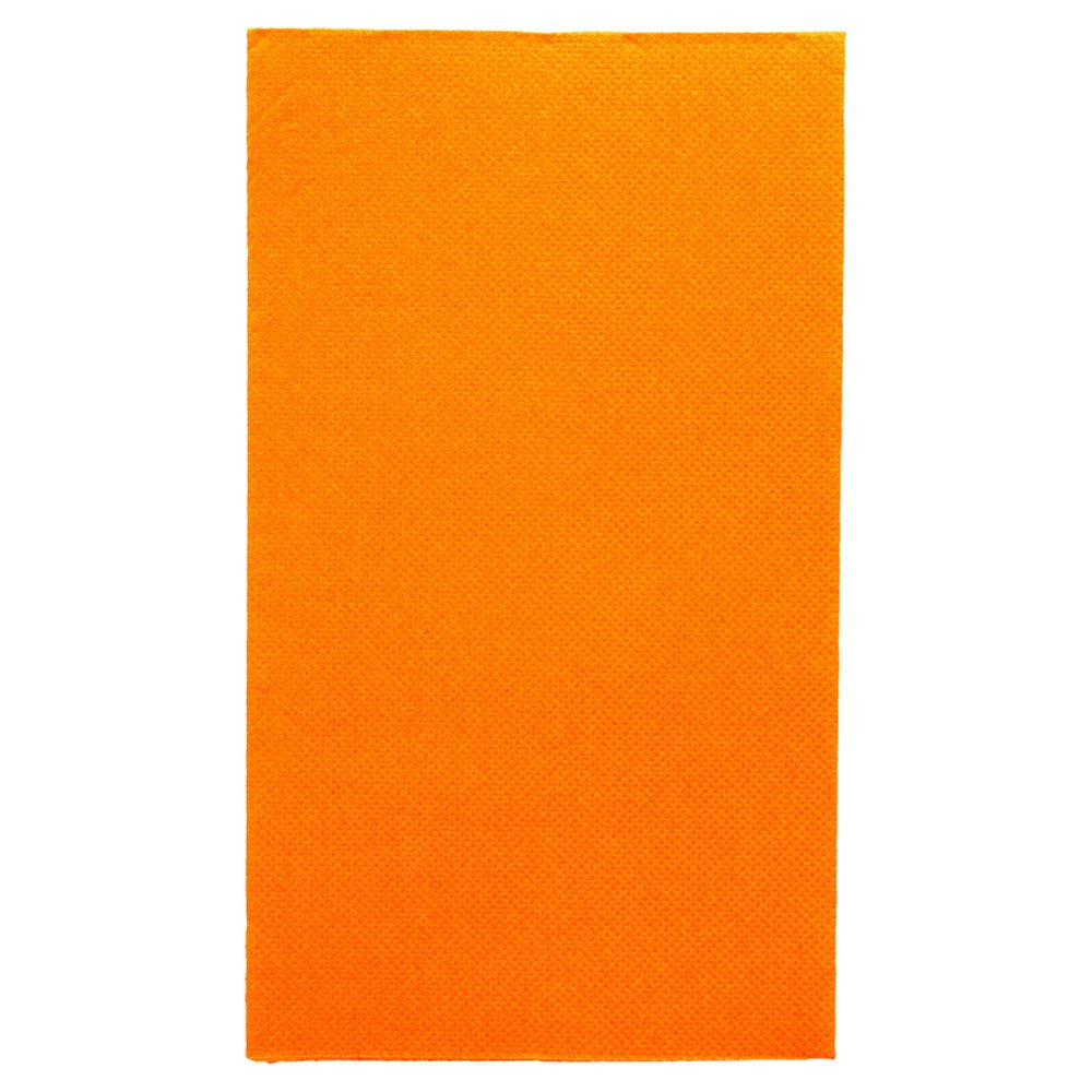 Serviette en ouate gaufré 2 plis clémentine 1/6 33x40cm - par 2000