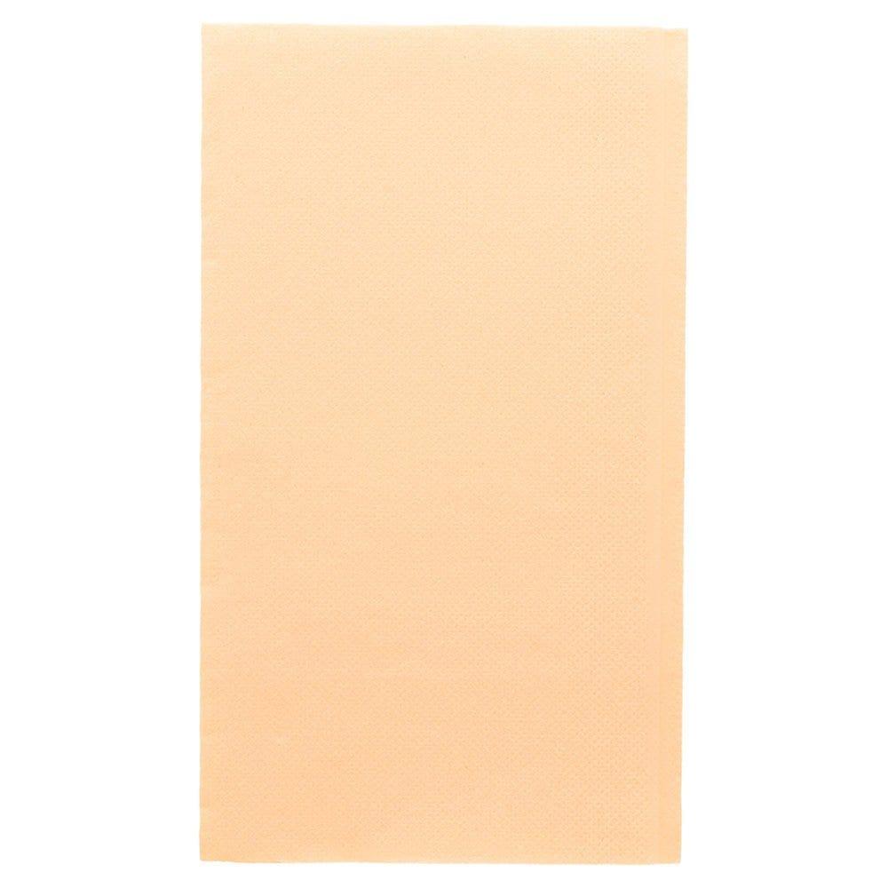 Serviette en ouate gaufré 2 plis ivoire 1/6 33x40cm - par 2000
