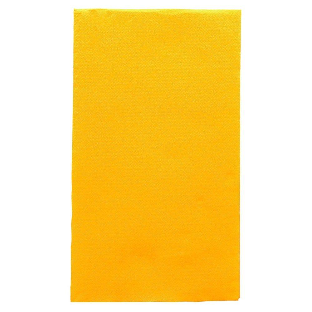 Serviette en ouate gaufré 2 plis jaune 1/6 33x40cm - par 2000