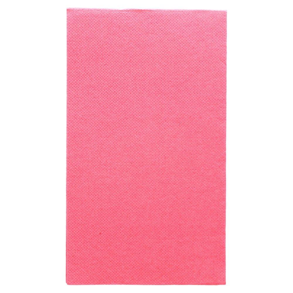 Serviette en ouate gaufré 2 plis fuchsia 1/6 33x40cm - par 2000