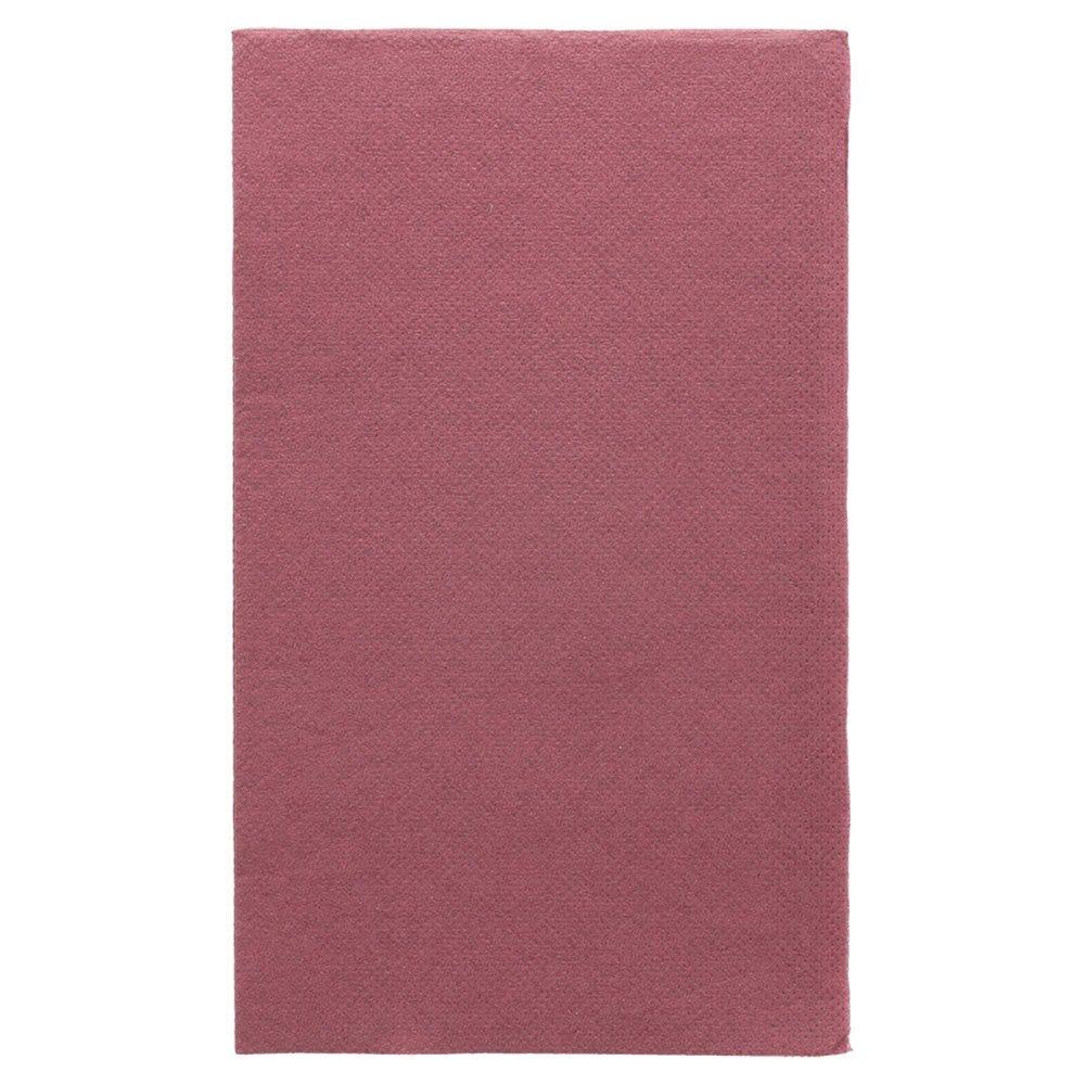 Serviette en ouate gaufré 2 plis prune 1/6 33x40cm - par 2000