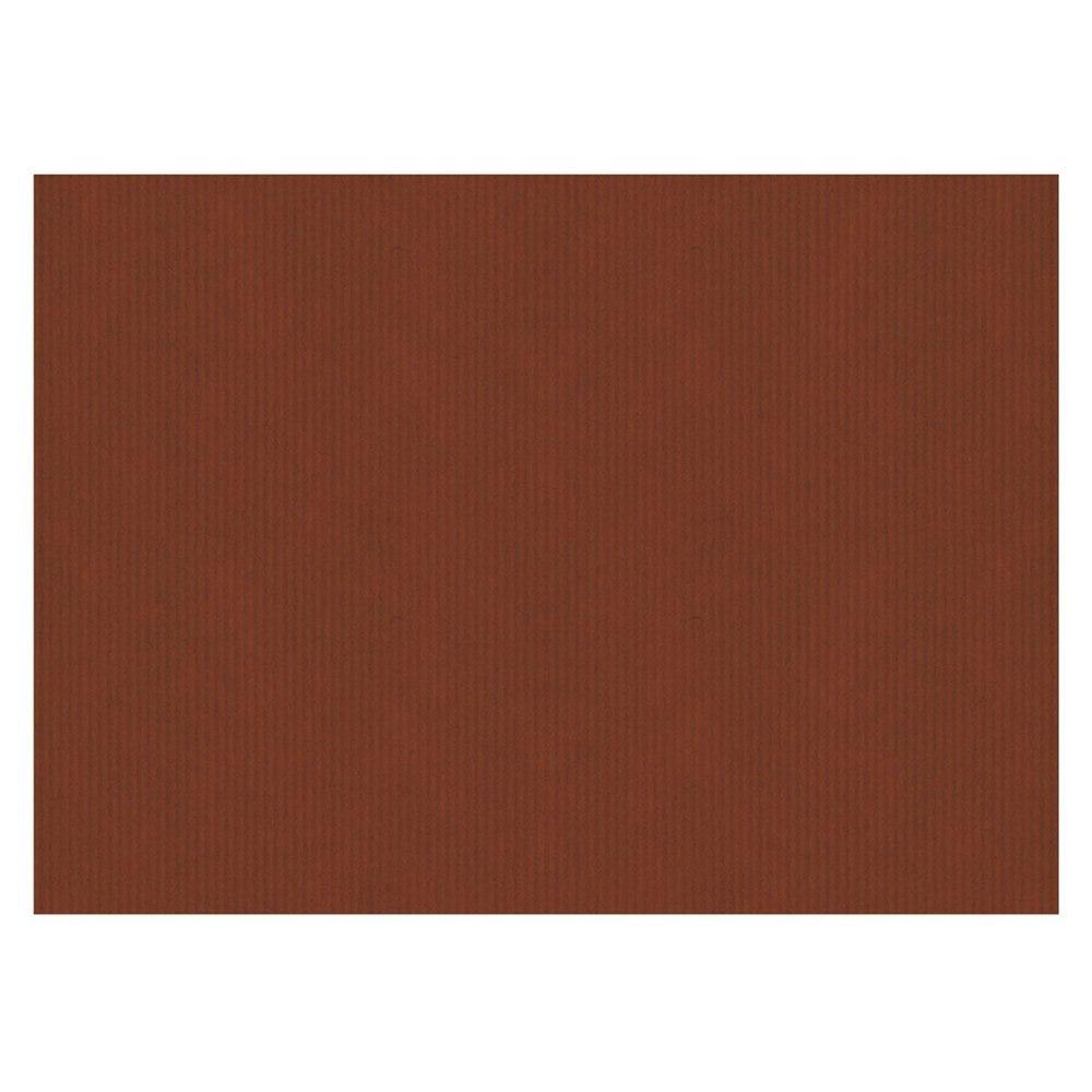 Set de table kraft vergé chocolat 31x43cm - par 2000