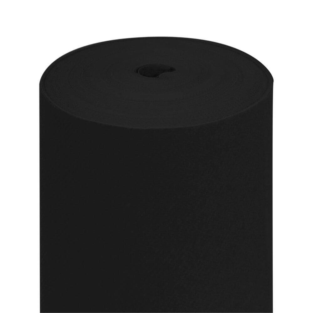 Tête-à-tête pré-découpé en 120cm intissé noir 0,40x24m - par 6