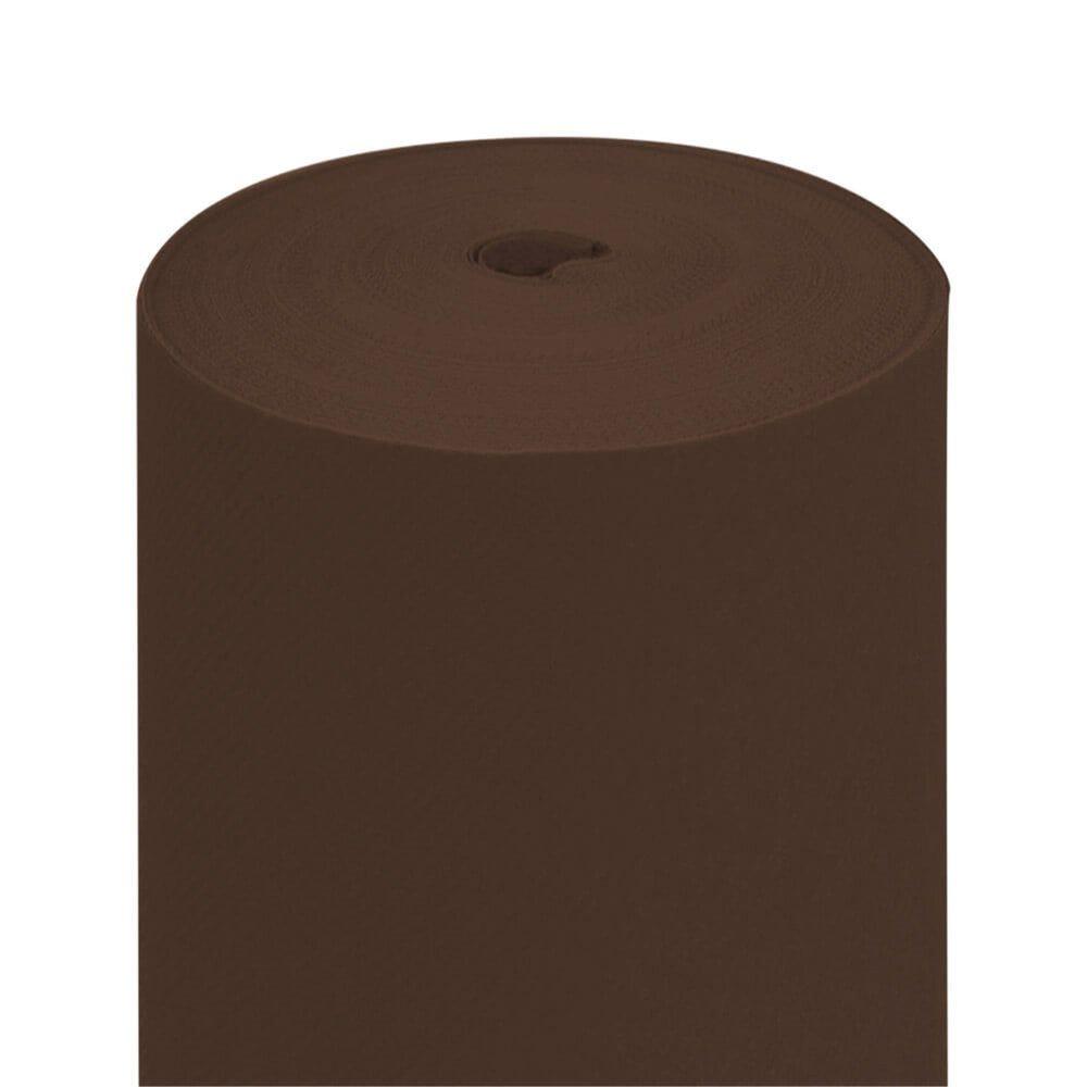Tête-à-tête pré-découpé en 120cm intissé chocolat 0,40x24m - par 6