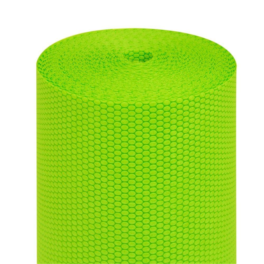 Tête à tête pré-découpé en 120cm polypropylène épais vert lime 0,40x36m - par 6