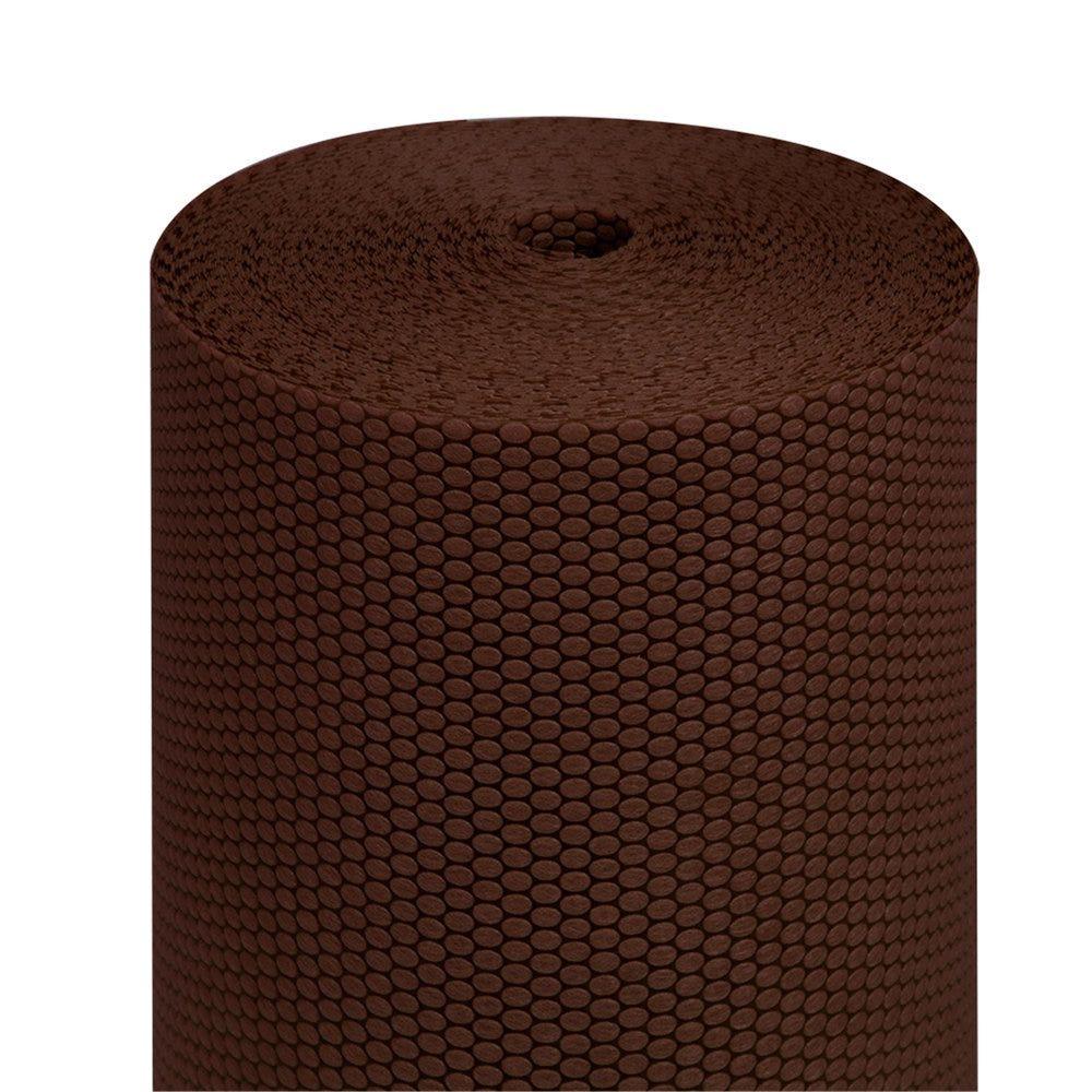 Tête à tête pré-découpé en 120cm polypropylène épais chocolat 0,40x36m - par 6