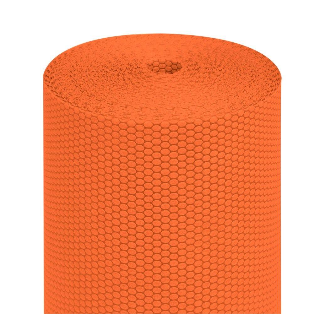 Tête à tête pré-découpé en 120cm polypropylène épais orange 0,40x36m - par 6